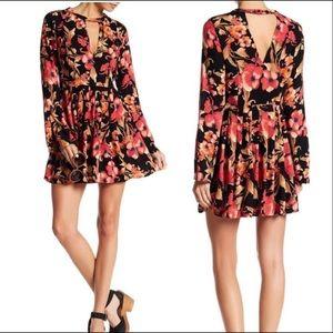 Free People Tegan Floral Dress
